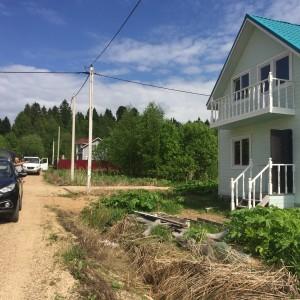 Продам новый дом в жилом селе.